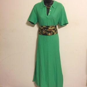 Vintage Talbots Polo Dress Sz L